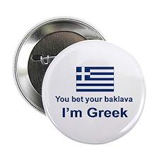 """You Bet Your Baklava 2.25"""" Button"""