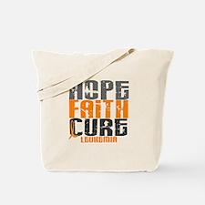 HOPE FAITH CURE Leukemia Tote Bag