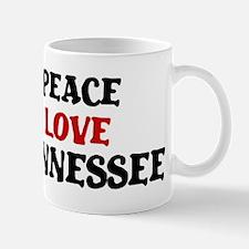 Peace Love Tennessee Mug