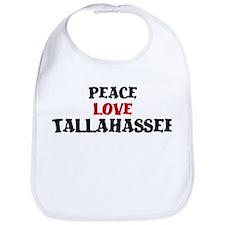 Peace Love Tallahassee Bib