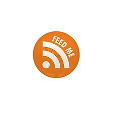 Cute Rss feeds Mini Button (100 pack)