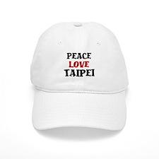 Peace Love Taipei Baseball Cap