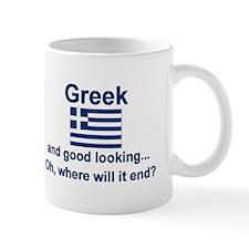 Good Looking Greek Mug