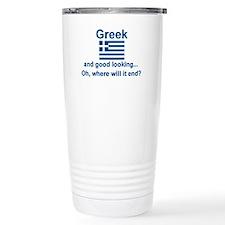 Good Looking Greek Travel Mug