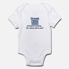 Good Looking Greek Infant Bodysuit