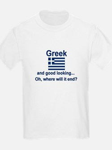 Good Looking Greek T-Shirt