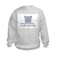 Good Looking Greek Sweatshirt