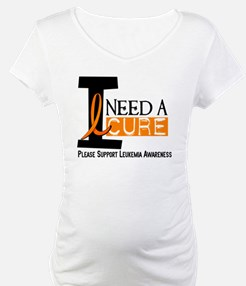I Need A Cure LEUKEMIA Shirt