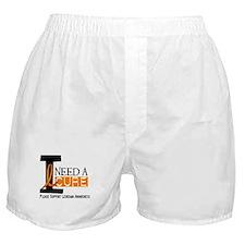 I Need A Cure LEUKEMIA Boxer Shorts