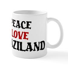 Peace Love Swaziland Mug