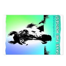 Postcards - Save the Horses (Package of 8)