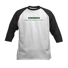 Green DEMOCRATIC REPUBLIC OF Tee