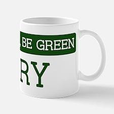 Green CARY Mug