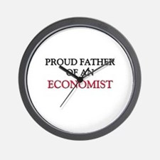 Proud Father Of An ECONOMIST Wall Clock