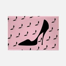 High Heel Shoe Rectangle Magnet