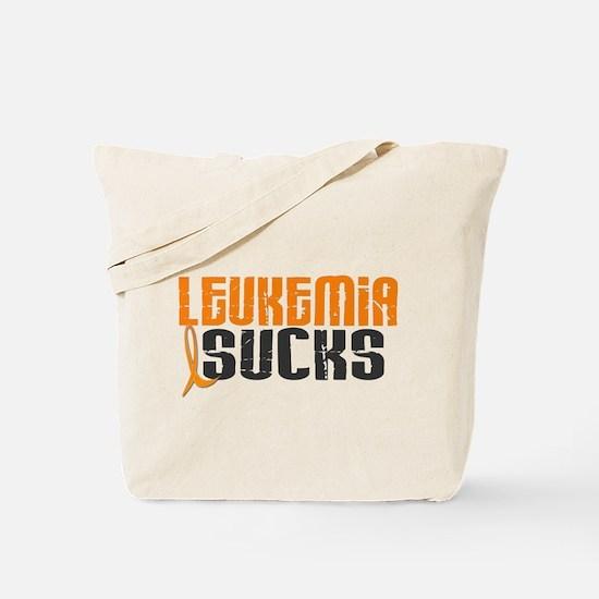 Leukemia Sucks Tote Bag
