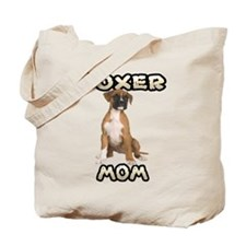 Boxer Mom Tote Bag