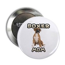 """Boxer Mom 2.25"""" Button"""