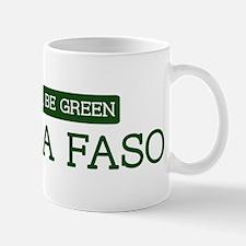 Green BURKINA FASO Mug