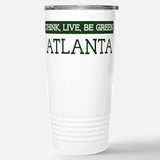 Green ATLANTA Travel Mug