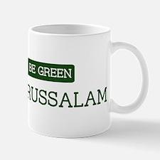 Green BRUNEI DARUSSALAM Mug