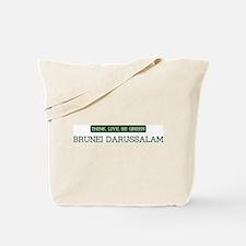 Green BRUNEI DARUSSALAM Tote Bag