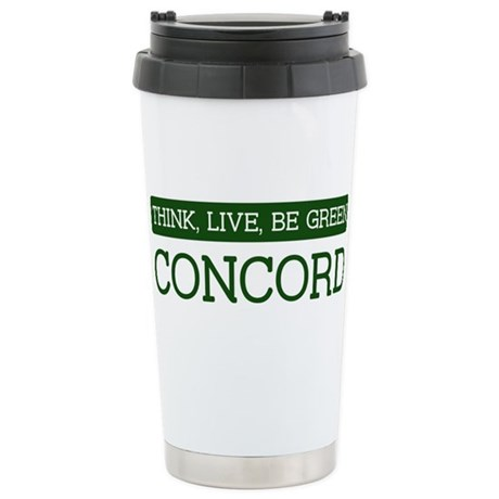 Green CONCORD Stainless Steel Travel Mug