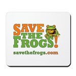 SAVE THE FROGS! Mousepad