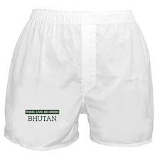 Green BHUTAN Boxer Shorts