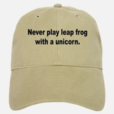 No Unicorn Leap Frog Baseball Baseball Cap