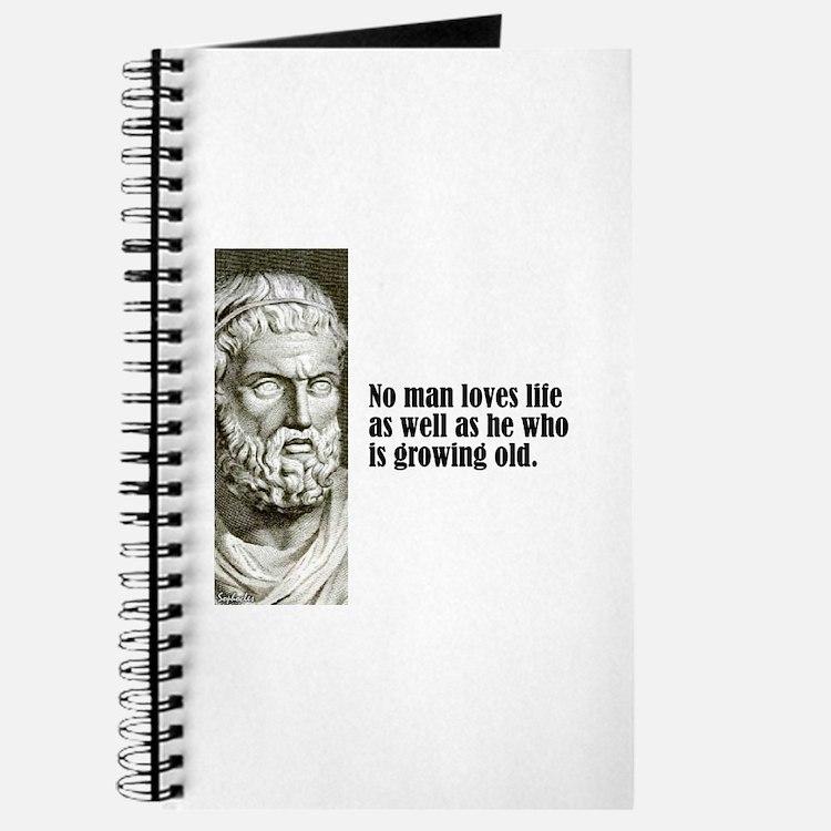 """Sophocles """"Loves Life"""" Journal"""