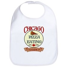 Chicago Pizza Eating Champion Bib