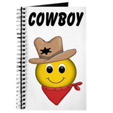 Cowboy Smiley Journal