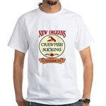 New Orleans Eating Champion White T-Shirt