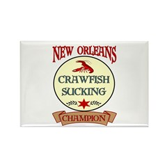 New Orleans Eating Champion Rectangle Magnet