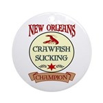 New Orleans Eating Champion Ornament (Round)
