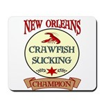 New Orleans Eating Champion Mousepad