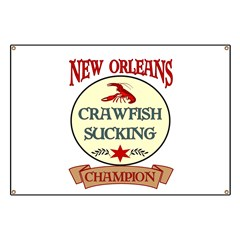 New Orleans Eating Champion Banner