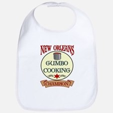 New Orleans Gumbo Cooking Cha Bib