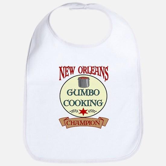 New Orleans Gumbo Cooking Cha Bib