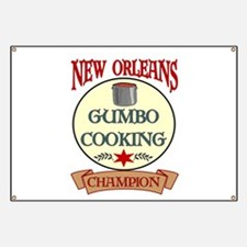 New Orleans Gumbo Cooking Cha Banner