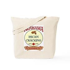 Alabama Pecan Cracking Champ Tote Bag