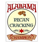 Alabama Pecan Cracking Champ Small Poster