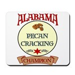 Alabama Pecan Cracking Champ Mousepad