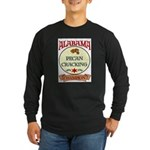 Alabama Pecan Cracking Champ Long Sleeve Dark T-Sh