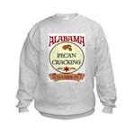 Alabama Pecan Cracking Champ Kids Sweatshirt