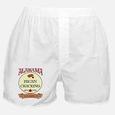 Alabama Pecan Cracking Champ Boxer Shorts