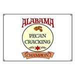 Alabama Pecan Cracking Champ Banner