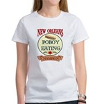 New Orleans Poboy Eating Cham Women's T-Shirt