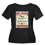 New Orleans Poboy Eating Cham Women's Plus Size Sc